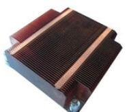 Quality GS ROHS Aluminum Heat Sinks ,Thin Round Silver Copper Cooling Fin for sale