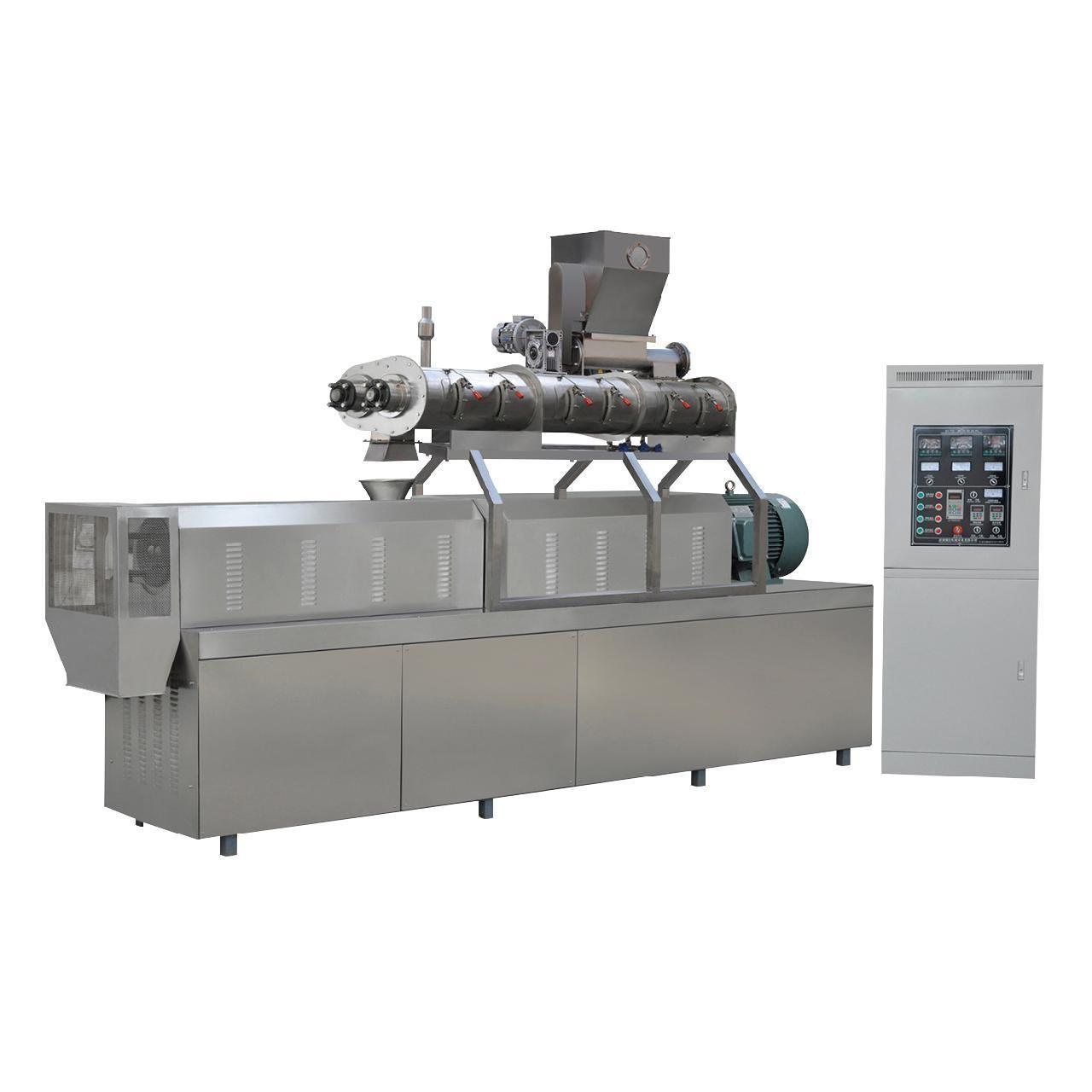 Quality 900kg/h twin screw extruder South Korea fish feed pellet machine price for sale