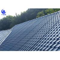 Quality Anti Corrosion Asa Synthetic Resin Roof Sheet High Pavement Efficiency for sale