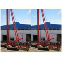 Quality Crawler Mounted Drill Rig For Pile Foundation Max Drilling Depth 34m for sale