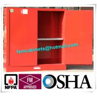 Quality Fireproof Corrosive Chemical Storage Cabinets For Diesel / Engine Oil / Lubricating Oil for sale