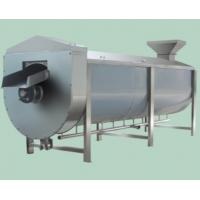 China SUS304 Fruit And Vegetable Processing Equipment Spiral Type Vegetable Blanching Equipment on sale