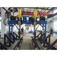 Buy China Automatic H Beam Welding Machine with Lincoln DC-1000 Welder SAW Welding in H Beam Line at wholesale prices