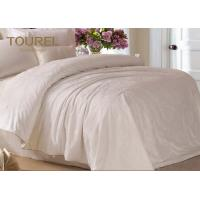 Quality Jacquard Cotton Hotel Quality Bed Linen / Bed Sheet / Hotel Bed Linen With Customized Logo for sale