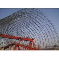 China Large Prefabricated Steel Space Frame Structure / Space Frame Buildings High Strength on sale