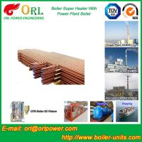 Quality Oil Fired Boiler Super Heater , Platen Superheater In Thermal Power Plant for sale