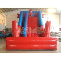 Quality Spiderman Inflatalbe jumpers Slide for sale