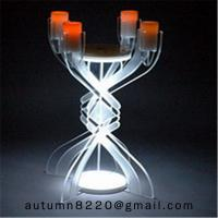Buy CH (23) votive glass candle holder with acrylic stand at wholesale prices