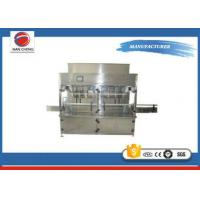 Quality Semi - Automatic Edible Oil Filling Machine , Commercia Cooking Oil Filling Machine for sale