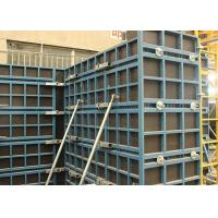 Quality Concrete Wall Steel Frame Formwork Highly Efficient With Low Labour Cost for sale