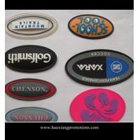 Quality factory new product custom garment label silicone garment badge/rubber patch for sale