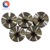 Quality 0.04-0.3mm Polycrystalline diamond PCD wire drawing die for copper and stainless steel wire for sale