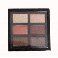 Warm Neutral Eyeshadow Palette All Shimmer , Red And Brown Eyeshadow Palette 90g