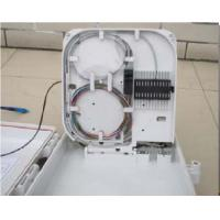 China CATV Networks FTTH Termination Box Rainfall Resistant Anti Aging White Color on sale