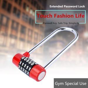 Quality Long Beam 5 - Digit High Security Padlock , Extended Lock Hook Padlock for sale