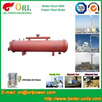 Quality 300 Ton Ionic Pressure Drum / Stability Low Pressure Boiler Drum ORL Power for sale