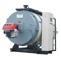 Quality PLC Control Gas Fuel Fired Hot Water Boilers for sale