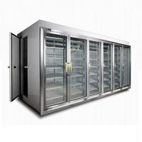 China Glass Door Display Cold Storage Room For Beverage Commercial Packaged Food on sale