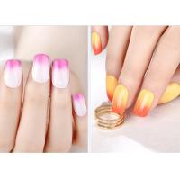 Quality Multi Color MSDS GMP Mood Changing Gel Nail Polish Environment - Friendly for sale