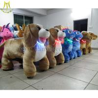 Quality Hansel Amusement Rides animal rider animation guangzhou coin operated electric toy car for sale