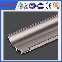 Quality aluminum extrude for glass shower door factory, polish aluminium profiles for shower door for sale