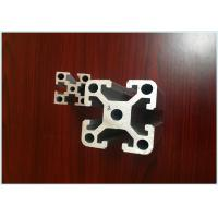 Quality 6063 T5 / T8 T Slot Siver Anodizing Structural Aluminum Profiles ISO9001: 2008 for sale