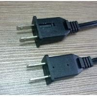 UL approved 2-pin polar plug with fuse nema 1-15P SPT-1/SPT-2 power cord plug for sale