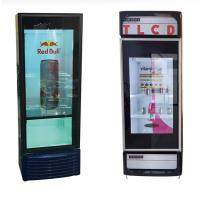Quality Supermarket Transparent Lcd Screen For Cold Drink Frigerator Display for sale