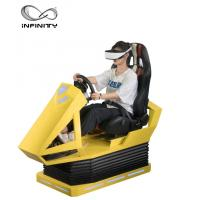 Quality Interactive 9D VR Car Racing Simulator For Adult / Children 1 Year Warranty for sale