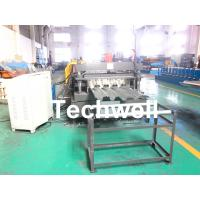 Quality 10-12m/min Forming Speed Metal Deck Flooring System Floor Decking Roll Forming Machine With 22KW Motor Power for sale