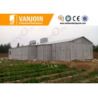 Quality Prefab House 100mm EPS Foam Sandwich Wall Panels With Sound Insulation for sale