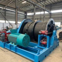China Fast Speed 650KN Small 1 ton 10 ton Electric Power Winch on sale