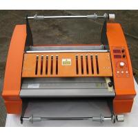 Quality FM-3810 Anti-Curl Single Side Laminating Machine Hot Roll Laminator for sale