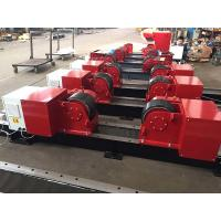Quality 20T/ 44000LBS Bolt Adjustment Conventional Pipe Welding Rollers With Pu Wheels for sale