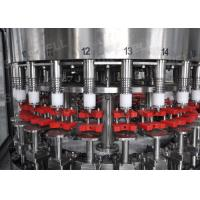Quality Stainless Steel Hot Filling Machine 3-in-1 Monoblock For 500ml Plastic Bottles for sale