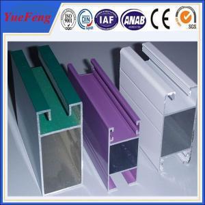 Quality types of aluminium extrusion frame sliding glass/best price of aluminium sliding window for sale