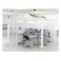 Quality EBM Fan Lab Modular Softwall Cleanroom / Hospital Class 10000 Clean Room for sale