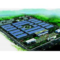 China Multi Story Steel Structure Warehouse , ASTM A36 A572 Steel Construction Buildings for sale