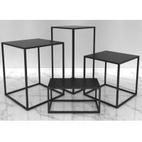 Buy cheap OEM Fashion Design Display Tables Garment Display Stands For Shopping Mall from wholesalers