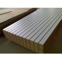 Quality China ACEALL Tableros MDF Ranurados Slotted Melamine Faced MDF Board for sale