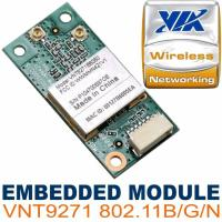 Quality VIA VNT9271B6050 USB Embedded Wi Fi security with WEP/WPA/WPA 2.0 standard for sale
