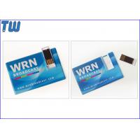 Buy cheap Sliding UDP Chip Business Name Card 2GB Pendrive Storage Disk from wholesalers