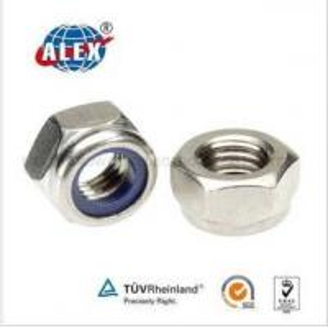 Quality Railway Nylon Insert Locking Nut for sale