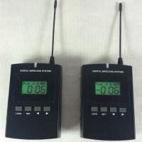 Buy Factory Reception 008C Museum Audio Guide / Tour Guide Microphone And Headsets at wholesale prices