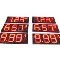 Quality 8'' 10'' 12'' 16'' 20'' Inch Led Gas Price Sign Aluminium Frame / Iron Cabinet for sale