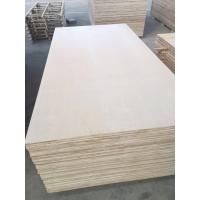 Quality 1220*2440mm Cabinet grade White Birch Plywood , Poplar/Eucalyptus Core for sale