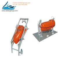 Quality FRP Material Totally Enclosed Type 15 People Free-Fall Lifeboat Including Davit With CCS Class for sale