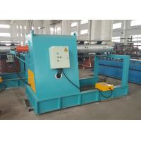 Quality Electric Roll Forming Machine Parts / Single Mandrel Hydraulic Decoiler With Support Frame for sale
