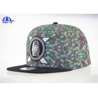 Quality 6 Panel Sublimation Logo Snapback Baseball Caps for sale