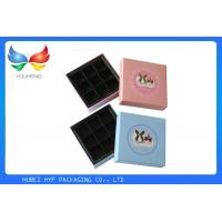 Quality Coated Paper Luxury Packaging Boxes , Empty Chocolate Gift Boxes Packaging for sale